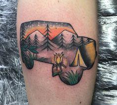 Land Rover defender 90 tattoo
