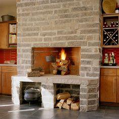Multifunctional Fireplace