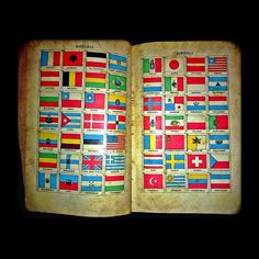#bandeiras #oldbook #flag #Bandiera #flagge