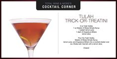 Trick-or-Treat Martini Halloween Cocktail from Total Wine & More