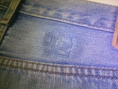 Picture of How to repair jeans with another pair of jeans