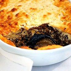 moussaka with lamb mince & ricotta (NO pasta)