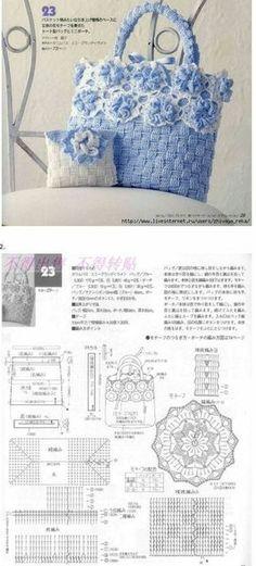 다양한 가방도안들 [BAND] 뜨개질 사랑 & 솜씨자랑