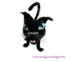 Amigurumi To Go: Halloween Black Cat Free Crochet Pattern - leider englisch
