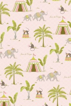 Jour du Cirque Gift Wrap Roll  Cover....  Mat pictures, create collages, frame the sheet, or wrap a canvas, or simply line a drawer, or cover a vanity/desk top and top with glass.