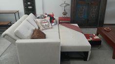 Si sientes que algo hace falta en tu hogar, es probable que este Sofá Cama sea la mejor opción para llenar ese vacio. Bien sea para una tarde de peliculas o para recibir a un invitado inesperado, este mueble funcional y versátil estará ahí para cualquier situación.   Encuéntralo en @AthosMuebles   #Comodidad #Hogar #Moderno #sofa #sala #Colecciondiseñoorganico #sofacama #design #descanso # interior #Athosmuebles Couch, Bed, Furniture, Home Decor, Home Decorations, Beds, Trendy Tree, Interiors, Settee