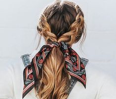 12 back-to-school hairstyles that will earn you an A + 12 back-to-school hairstyles that will earn you an A Trendy Ideas Hairstyles for School Updo Simple, Cute Hairstyles For School, Cute Hairstyles For Medium Hair, Cute Simple Hairstyles, Scarf Hairstyles, Wedding Hairstyles, Everyday Hairstyles, Hairstyles Videos, Easy Teen Hairstyles, Formal Hairstyles