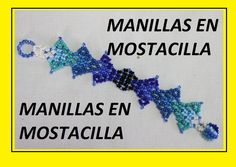 PULSERA EN MOSTACILLA AZUL Beaded Jewelry Patterns, Beading Patterns, O Design, Loom Beading, Bead Art, Bead Weaving, Seed Beads, Jewelry Bracelets, 1