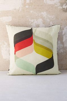 Inaluxe Flora Pillow - Urban Outfitters