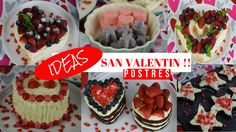 POSTRES PARA SAN VALENTIN !! ❤️❤️ - YouTube