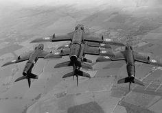 Blackarrows /via Kemon01 #flickr #plane #1970s #Hawker #Hunter