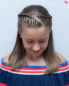160 Braids Hairstyle Ideas for Little Kids 2019 - Page 62 of 160 - Soflyme : 160 Braids Hairstyle Ideas for Little Kids Kids Cornrow Hairstyles, Cute Braided Hairstyles, Cute Hairstyles For Kids, Little Girl Hairstyles, Trendy Hairstyles, Hairstyle Ideas, Teenage Hairstyles, Braids For Kids, Girls Braids