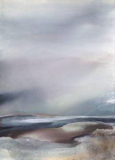 "Saatchi Art Artist Sabrina Garrasi; Painting, ""Nostalgic and Enchanted / Large Landscape - Abstract Painting"" #art"