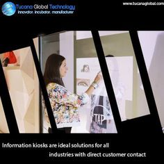 #Information #kiosks are ideal solutions for all #industries with direct #customer contact. #TucanaGlobalTechnology #Manufacturer #HongKong