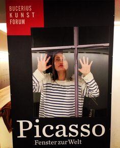 via Instagram chinosabio: me so Picasso  #picassome #buceriuskunstforum  #hamburg #040  #welovehh  #heuteinhamburg  #hamburgjournal