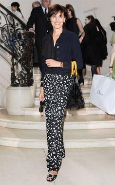 Ten Best Dressed — Inès de la Fressange, vogue #Fashion