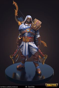 ArtStation - SMITE - Secret Order Ullr, Scott Kletzka