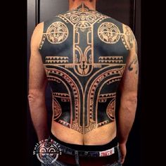 Tribal Tattoos For Men: With Meanings & Healty Tips Tribal Tattoos With Meaning, Tribal Tattoos For Men, Back Tattoos For Guys, Great Tattoos, New Tattoos, Tatoos, Mayan Tattoos, Common Tattoos, Blackout Tattoo