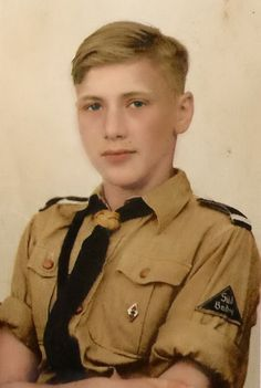 You would never guess who is this young boy -  Adolf Hitler !