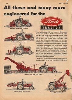 E Dca C C C F F Ef F Ford Tractors