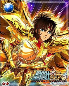 Gold Saint Sagittarius Aioros 2 Galaxy Cards version Saint Seiya Legend of Sanctuary