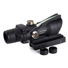 85.00. ACOG Style Green Dot Reticle Toc1 Terminus Optics Scope Immediate Shipping2  Maximum Magnification - 4X, Reticle - BDC, Lens Diameter - 32mm, Color - Green, Windage  Elevation Adjusters - 1 Click at 100 yardsx 0.5 inches, Field of view at 100 yards - 33 Feet (10.06 m), Eye Relief - 1.5 Inches (38 mm), Field of View - 6 degrees 15039, Objective Lens Diameter - 1.26 inches (32 mm), Exit Pupil - 0.24 inches (6 mm), Display Resolution - 5.7, Type - ACOG, Company  Location - United