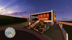 Post-rendering Photoshop; • Studio Urbano Arquitetura •