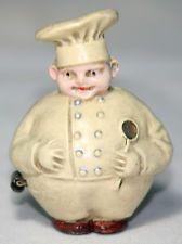 Original Antique c1930 ~~RoLy PoLy CHEF TAPE MEASURE