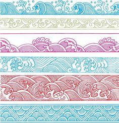 textura visual estilo japonesa