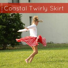 Coastal Twirly Skirt