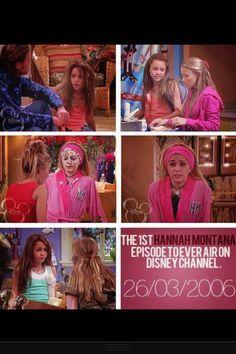 Hannah Montana memories; 1st episode
