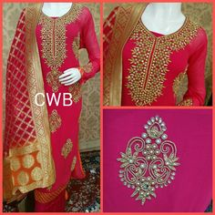 Embroidered Work Designer Suit-Color | Sahiba Collection