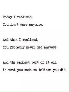 I hate that I believed you.