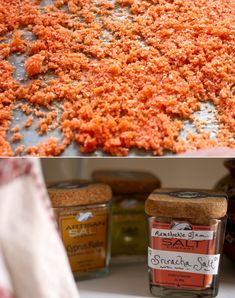The Saltyard would approve!! #CAG  Sriracha Salt   42 Wedding Favors Your Guests Will Actually Want