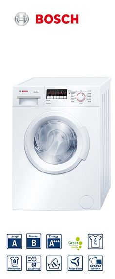 série 2 VarioPerfect - lave-linge frontal - 60cm | Capacité : 1 à 6kg | Volume du tambour : 42L