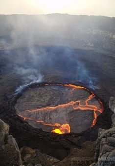 Nyiragongo Volcanic Crater, Democratic Republic of the Congo