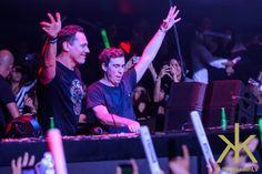 Hardwell & Tiësto at Hakkasan Nightclub August 11