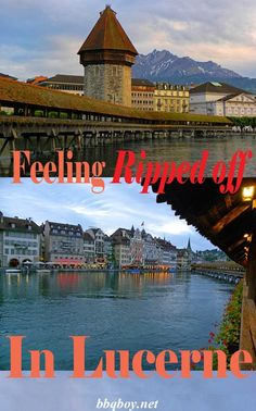 Ah, Lucerne. I compare it to a vain woman – shallow, boring, self-important, and expensive. All about that in this post #bbqboy #Lucerne #Switzerland #travel