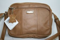 Lorenz Women's Leather Tan Bag Retro Style Girl Lady Handbag Evening Fashion