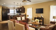 Large, open floor plan great for hosting.    www.myaspenheights.com