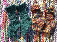 (6) Name: 'Knitting : Tiny feet (easy to knit basicbaby socks)