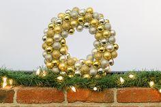 DIY Ornament Wreath Turtorial