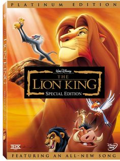 The Lion King  Always feel like a kid when i watch this :)    favorite disney movie!