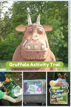 Gruffalo activity trail at Wendover Woods, Buckinghamshire Gruffalo Activities, Book Activities, The Gruffalo, Gruffalo Party, Wendover Woods, Julia Donaldson Books, Gruffalo's Child, Fun Bucket, Days Out With Kids