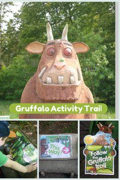 Gruffalo Activity Trail - the gingerbread house - http://www.forestry.gov.uk/gruffalo