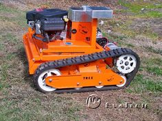 TREX RC Robot Lawn Mower Is Built Like A Tank- ROBOMOWER!