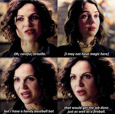 """866 Likes, 11 Comments - Tear Yourselves Apart  (@the_wicked_evil_frozen_oncer) on Instagram: """"Even without magic, Regina is still a badass . Credit to @onceuonatime . #OnceUponATime #EvilQueen…"""""""