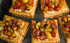 Fresh Tomato and Cheese Puff-Pastry Tart - Dishes That Will Impress Your In-Laws - Pictures - Chowhound