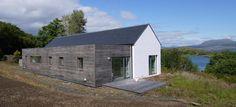 Cochrane_1 Cottage Extension, Agricultural Buildings, Minimal Architecture, Rural House, Irish Cottage, Small House Design, House Extensions, House Roof, Bungalows