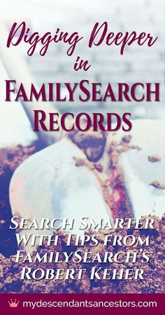 In this interview from #RootsTech 2018, learn how to navigate FamilySearch's unindexed records, use advanced search tools, get the most out of family tree hints, and find out what new developments are on the horizon at FamilySearch! #genealogy